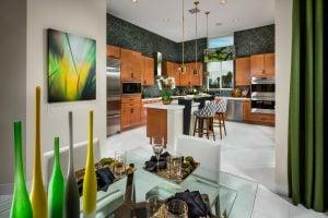 طراحی دکوراسیون داخلی منازل آشپزخانه