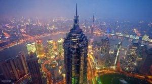 برج جین مائو (Jin Mao)، چین اثر شرکت معماری اسکیدمور، اوینگز و مریل
