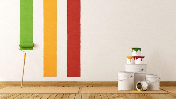 تاثیر رنگ در طراحی داخلی